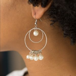 Pearl accented earrings